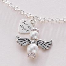 For an Angel Necklace, Optional Engraving